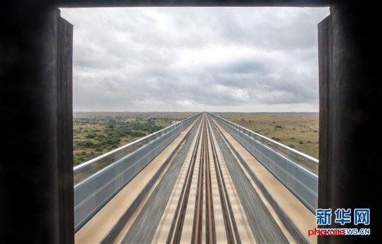 (国际)(3)中企承建的肯尼亚内马铁路进行联调联试