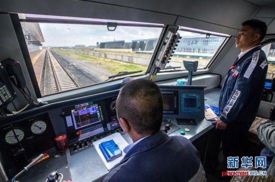 (国际)(4)中企承建的肯尼亚内马铁路进行联调联试